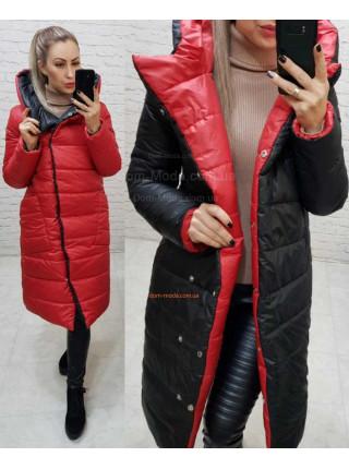 Двухсторонняя куртка женская зимняя