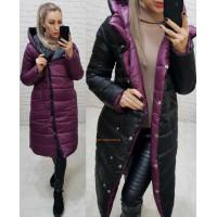 Двостороння куртка жіноча зимова