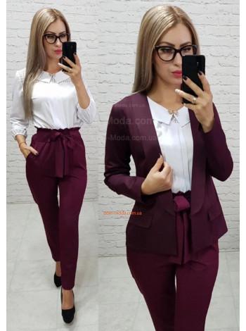 Женские стильные брюки с завышенной талией