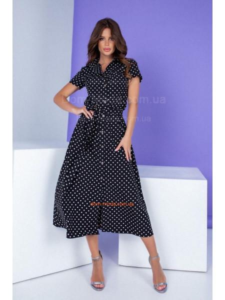 Сукня сорочка міді з поясом