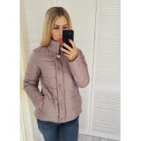 Женская стильная весенне осенняя короткая курточка
