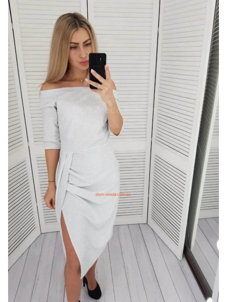 Блискуче вечірнє плаття