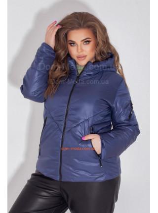 Коротка куртка для повної жінки