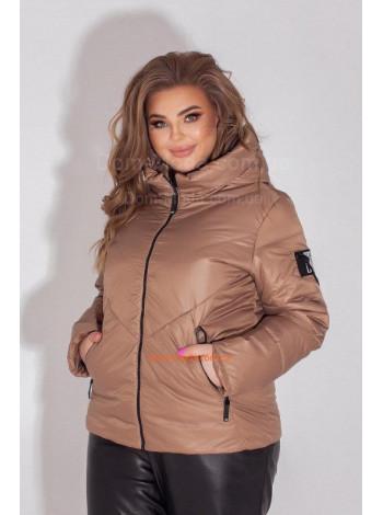 Короткая куртка для полной женщины