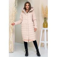 Зимняя куртка женская длинная