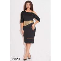 Коктейльное платье для полных женщин