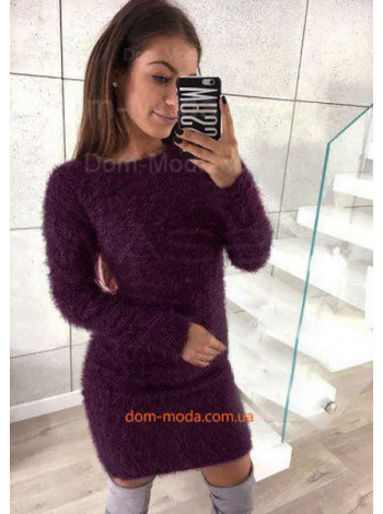 Короткое платье травка