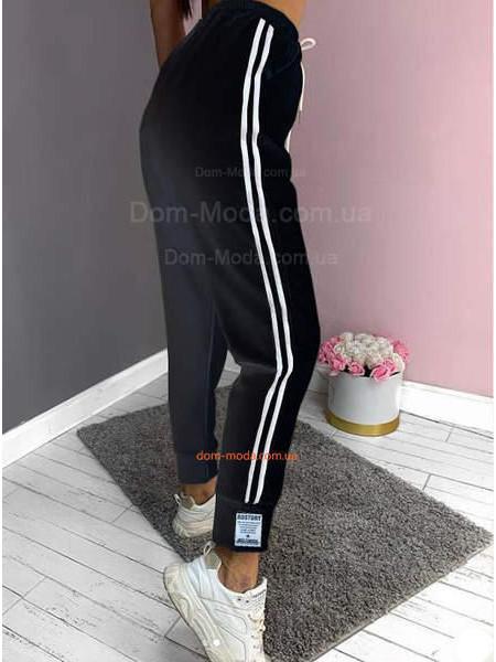 Женские спортивные штаны с лампасами