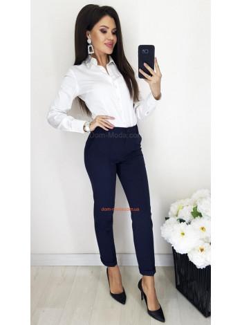 Модные брюки с высокой талией большого размера