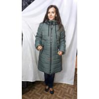 Женский пуховик пальто норма и большого размера