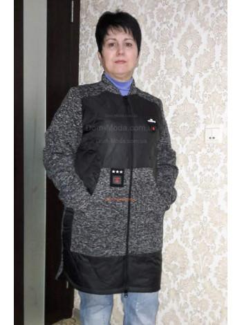 Удлиненная куртка женская весна осень 46-56