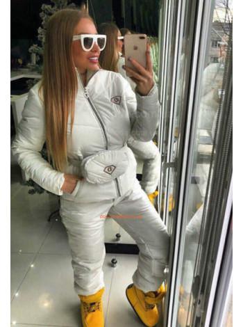 Зимний спортивный костюм с сумочкой