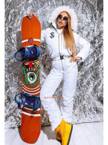 Лыжный комбинезон женский зимний