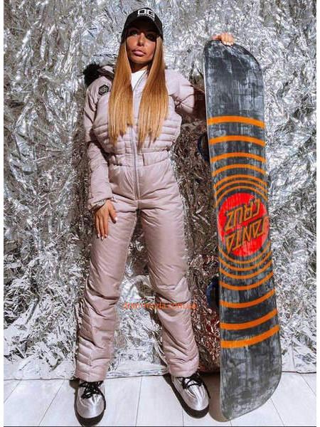 Зимний горнолыжный комбинезон женский