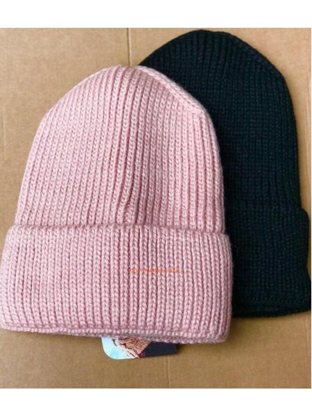 Вязаная шапка чулок