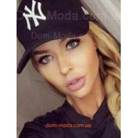Черная бейсболка женская