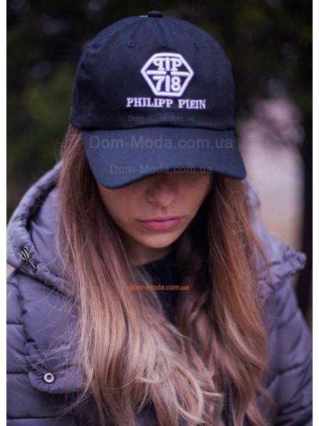 Жіноча кепка філіп плейн