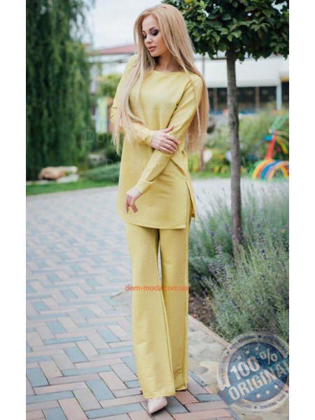 Женский костюм из люрекса