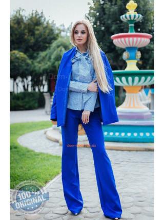 Женский строгий костюм с брюками