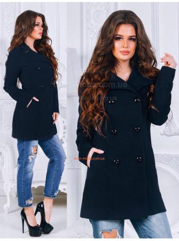 """Женское короткое пальто на пуговицах """"Алиса"""""""