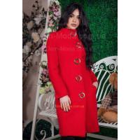 """Демисезонное женское пальто из кашемира """"Лилу"""""""