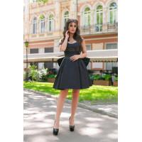 Летнее нарядное платье с бантиком
