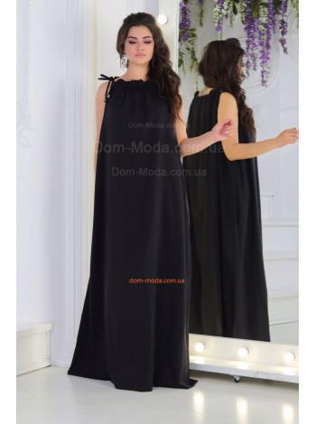 Літнє довге плаття вільного крою