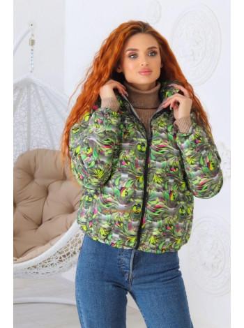 Куртка женская с принтом