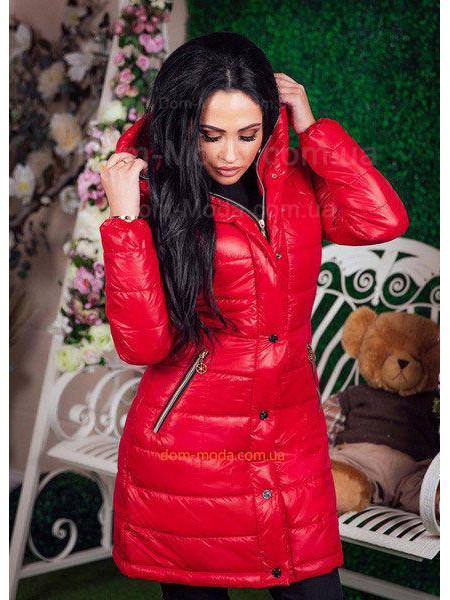 Зимняя женская куртка с капюшоном «Moncler»