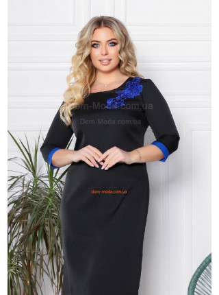 Жіноча сукня великого розміру
