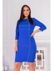 Модне жіноче плаття зі змійкою великого розміру