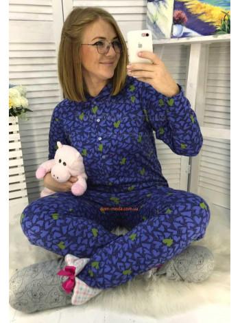 Жіноча піжама великого розміру