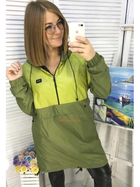 Вітровка анорак жіноча великого розміру