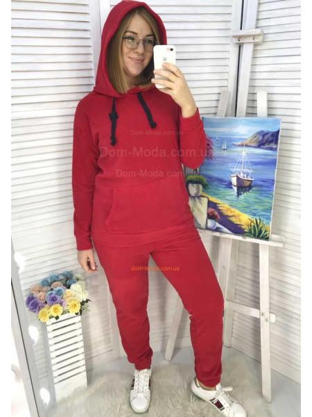 Флісовий спортивний костюм жіночий для повних