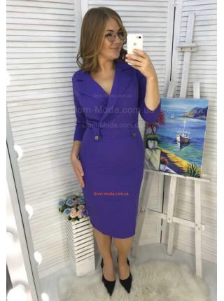 Жіноче офісне плаття великого розміру