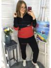 Плюшевий спортивний костюм жіночий великого розміру
