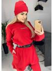 Теплий жіночий спортивний костюм з худі