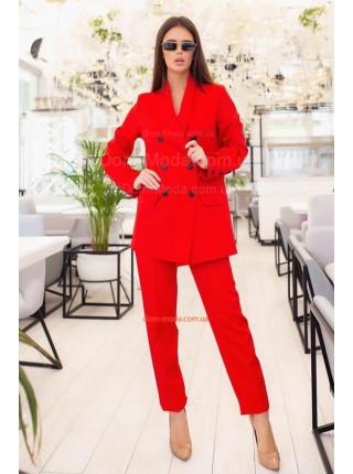 Жіночий офісний костюм з піджаком
