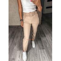 Модні брюки жіночі з поясом
