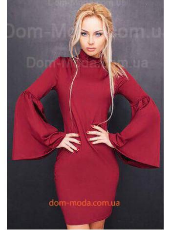Плаття з рукавом кльош купити за 430 грн Flo-3055 в магазині