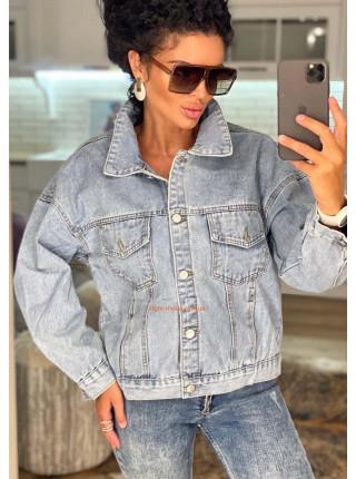 Модная женская джинсовка на лето
