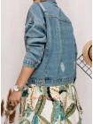 Літня жіноча джинсова куртка