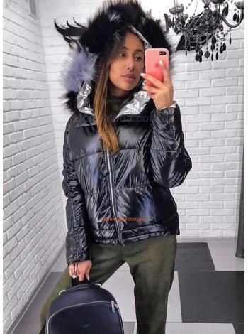 """Молодіжна жіноча куртка з хутром """"Bogner"""""""