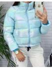 """Женская голубая демисезонная куртка """"Небеса"""""""