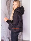 Женская стеганая куртка с холлофайбером