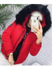 Женская куртка демисезонная с мехом