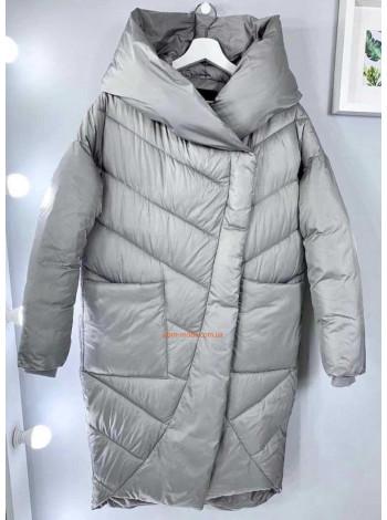 Демисезонное пальто из плащевки