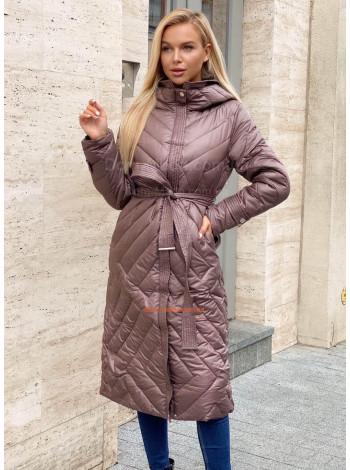 Женское стильное пальто из плащевки