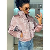 Женская демисезонная куртка с воротником