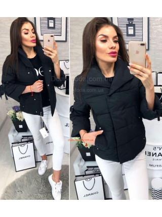 Женская короткая куртка с укороченным рукавом